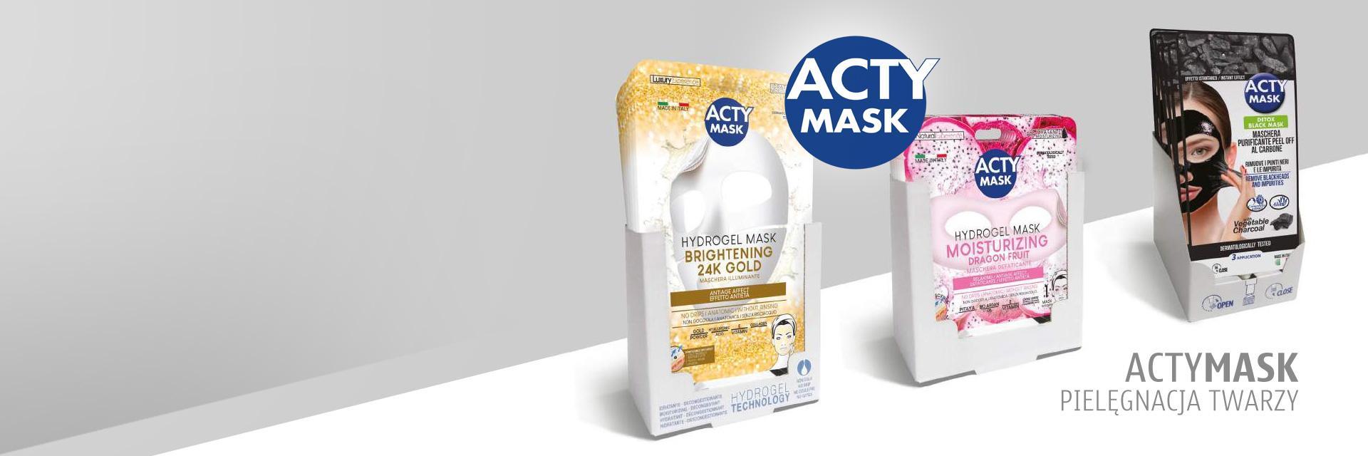 Maski pielęgnujące