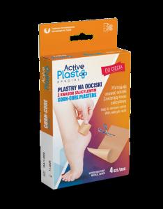 ActivePlast - Plastry ActivePlast NA ODCISKI do CIĘCIA 4 szt.