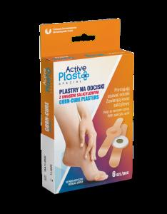 ActivePlast - Plastry ActivePlast na odciski z kwasem salicylowym 6 szt.