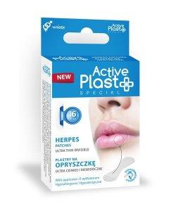 ActivePlast- plastry na opryszczkę