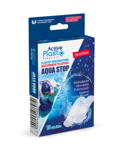 ActivePlast - Plastry Wodoodporne AQUASTOP Jednolite