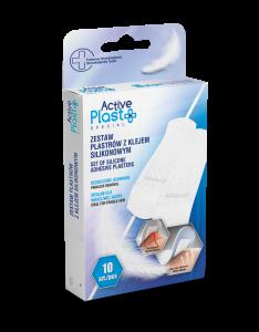 ActivePlast Zestaw Plastrów z Klejem silikonowym 10 szt.