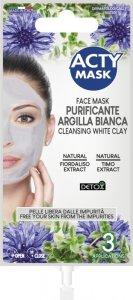Biała maska oczyszczająca z gliny - 15 ml