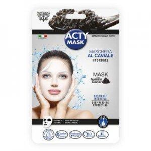 Maska hydrożelowa z Czarnym kawiorem