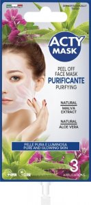 Oczyszczająca maska peelingująca - 15 ml