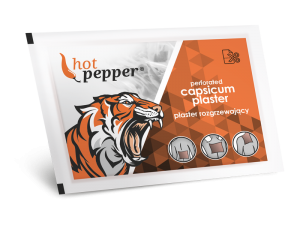 hotpepper-plastryaPlaster rozgrzewający HOT PEPPER 1szt.